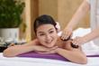 Quadro Stone Massage in Beauty Salon
