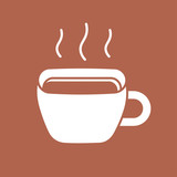 Coffee or tea cup icon.