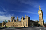 Fototapeta Big Ben - Palace of Westminster, London, England © bayazed