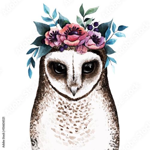 Cute watercolor illustration. - 156636521