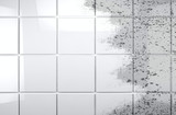 Clean tile wall bathroom.Background cleaning concept and housework - 156664339
