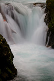 Waterfall and Rock Formation Detail- Germany