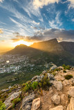 Fototapety Table Mountain Sunrise
