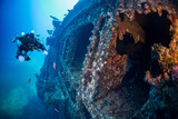 Diving on the wreck