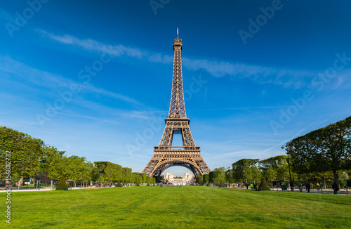 Eiffle tower ,Urban Skyline, Paris, France Photo by Putty