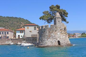 Village de Nafpaktos, Grèce