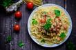 Pasta, spaghetti - 156971730