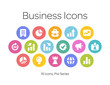 Business Icons, Pixi Series