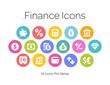 Finance Icons, Pixi Series