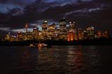 Australia Sydney Skyline Night View