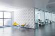Leinwanddruck Bild - moderne Büroetage