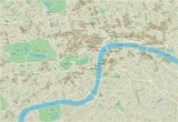 Vector city map of London with well organized separated layers. - 157138166