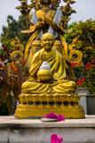 Goldener Buddha in Nepal