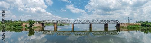 Fotobehang Overige Railroad bridge