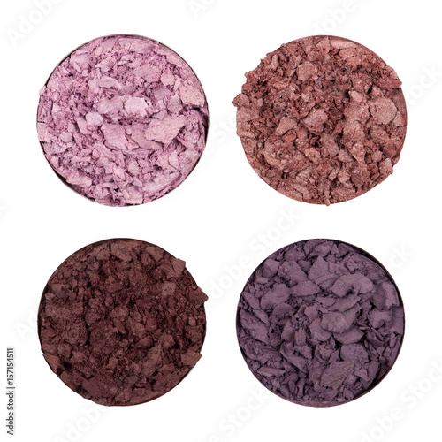Crushed eye shadows Poster