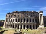 Roma, rovine romane al teatro Marcello