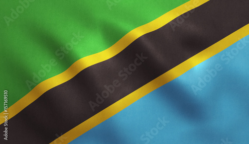 tansanische-flagge