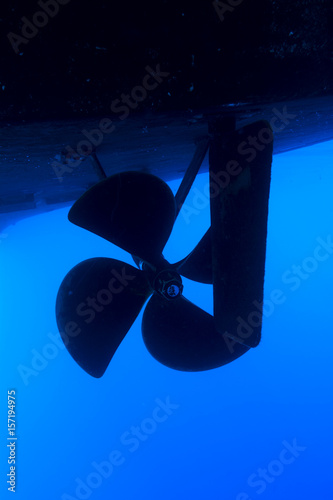 Juliste Boat propeller