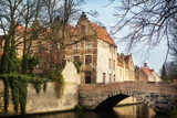 Bridges in medieval Bruges