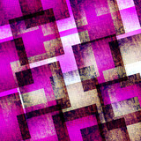 abstract art  pink and blue geometric   textured background