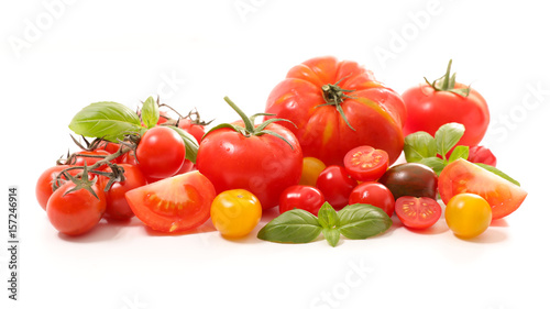 assortment of variety tomatoes
