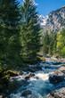 Val di Mello - Valmasino (IT) - Paesaggio alpino con torrente