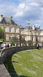 Photo of Luxemburg gardens on a spring morning, Paris, France