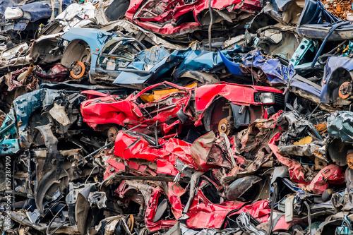 cars were scrapped - 157287909