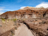 Dry water bed in the desert of the Grand Staircase-Escalante National Monument, near Page, Arizona, USA
