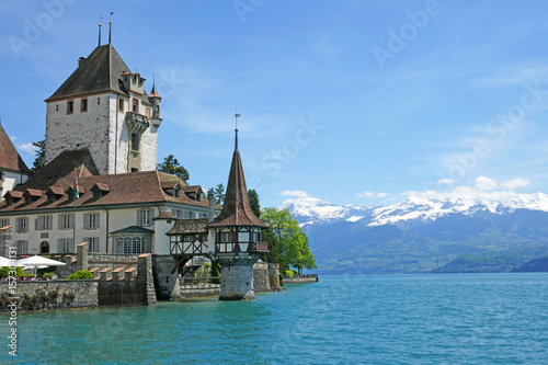 Schloss Oberhofen, Thunersee Schweiz Poster