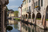 Sile river in Treviso's centre - 157329315