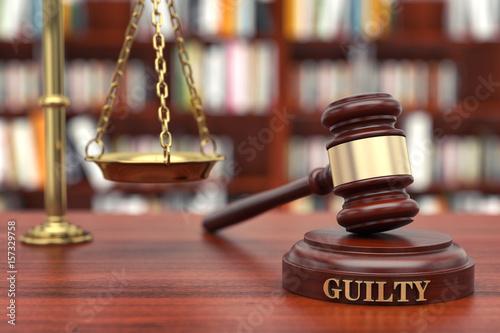 Poster Guilty verdict