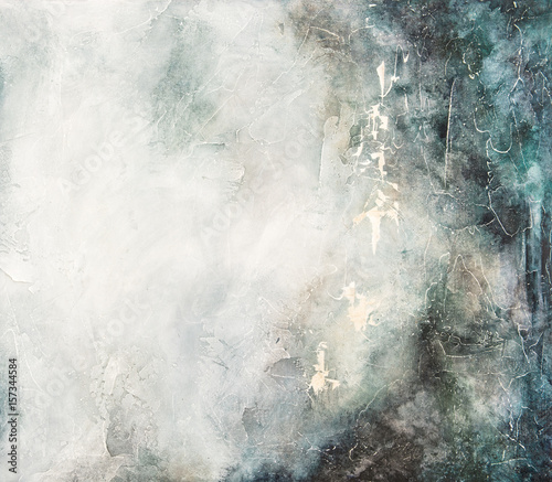 Foto Spatwand Betonbehang Abstract acrylic color background Stone texture