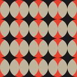 Abstract retro vintage geometric shape pattern background