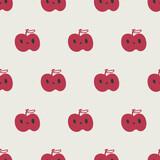seamless apple pattern - 157377189
