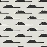 seamless mouse pattern - 157377549