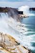Wonderful Niagara Falls USA early spring