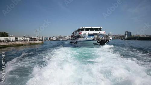 Ferry travels in Istanbul Turkey © ozgurpark