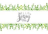 Floral border ornate for Your design