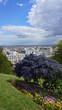 View from Sacre Coeur to Paris, Montmartre, Paris, France