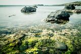 Sea landscape with rocks. Ustica, Sicily.