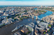 London Skyline aerial Panorama