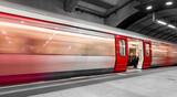 London tube moving