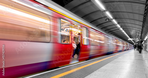 Foto op Canvas Londen London tube