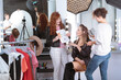 Make-up artists preparing professional model