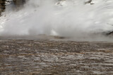 Hot Spring, Winter, Yellowstone NP