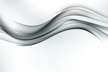 Grey tone modern lines and waves background