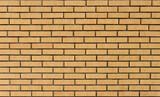 New yellow brick wall background