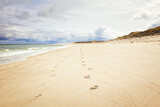 Ellenbogen beach at German North Sea island Sylt