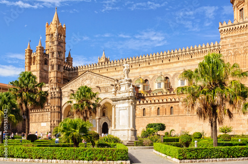 Keuken foto achterwand Palermo Cathedral of Palermo dedicated to the Assumption of the Virgin Mary - Palermo, Sicily, Italy